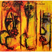 A. S. Rind, Untitled, 36 x 36 Inch, Acrylic on Canvas, Figurative Painting, AC-ASR-132
