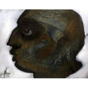 Abrar Ahmed, 06 x 08 Inch, Mixed Medium on Card, Figurative Painting, AC-AA-041
