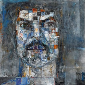 Farrukh Shahab, 10 x 10 Inch, Oil on Board,  Figurative Painting, AC-FS-005