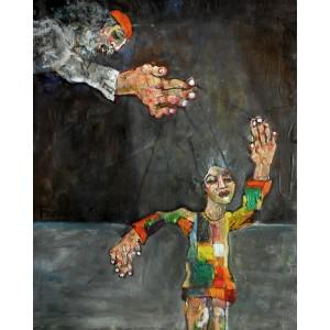 Farrukh Shahab, 10 x 12 Inch, Oil on Board,  Figurative Painting, AC-FS-007