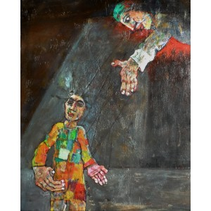 Farrukh Shahab, 10 x 12 Inch, Oil on Board,  Figurative Painting, AC-FS-008