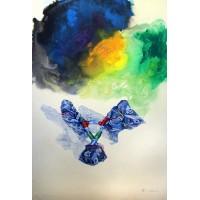 Hussain Chandio, Acrylic on Canvas, 43 x 66 Inch, Figurative Painting-AC-HC-017