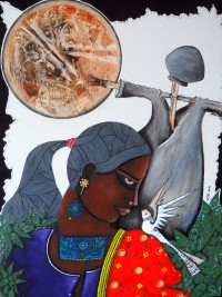 Nisar Ahmed, 18 x 24 Inch, Oil on Canvas, Figurative Painting, AC-NA-015