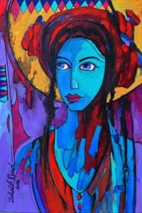 Zohaib Rind, 10 x 15 Inch, Acrylic on Canvas,  Figurative Painting, AC-ZR-018